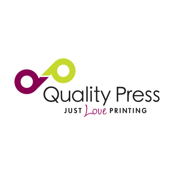 Quality Press logo Borderless Gandhi supporter
