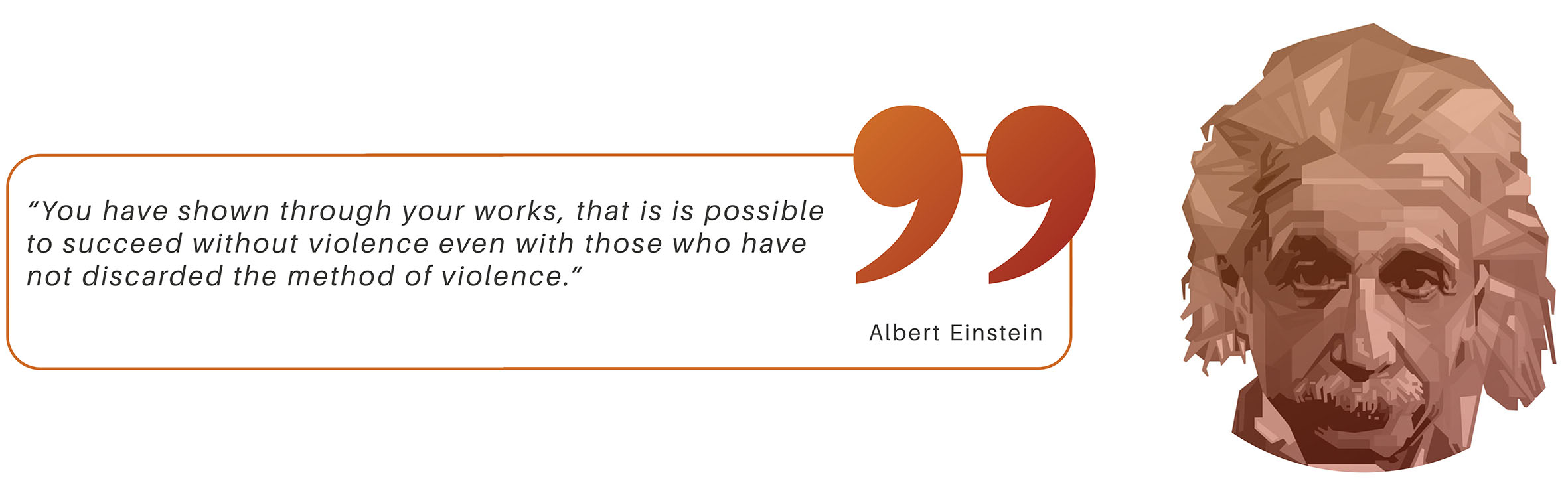 Quote Einstein small