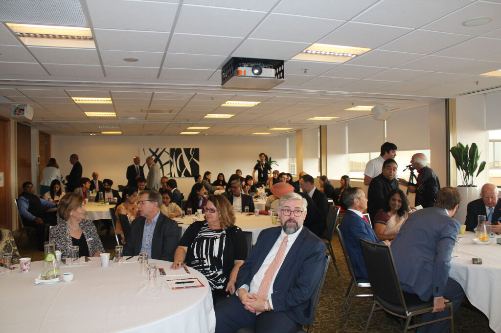 Borderless Gandhi 2019 breakfast event